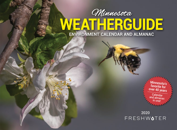 Weatherguide calendar cover 2020