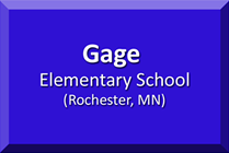 Gage Elementary, Rochester, MN