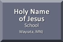 Holy Name of Jesus School, Wayzata, MN