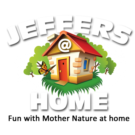 Jeffers@Home on clear for use on color