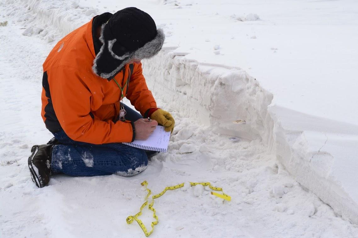 journaling in winter