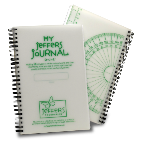 front and back cover of Jeffers Journal