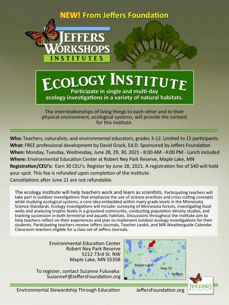 2021 Ecology flyer
